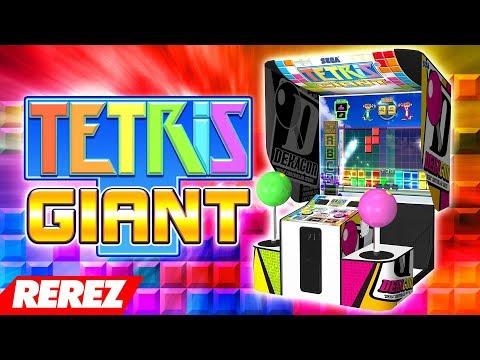 Biggest Tetris Game Ever!  Tetris Giant  Rerez