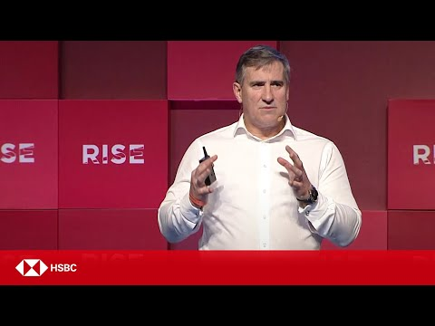 "HSBC Technology | Darryl West on ""Banks and Startups"" at RISE Conference 2017"