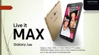 سامسونج تعلن رسميًا عن هاتفها العملاق «جالاكسي جي ماكس»
