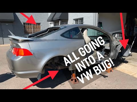 Honda K20 VW BUG: Removing 1,000LBS from a Acura RSX: