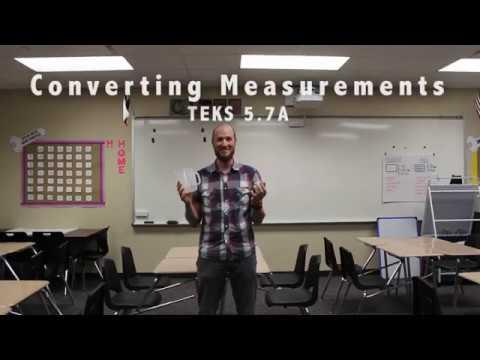 Grade 5 Converting Measurements TEKS 5.7A