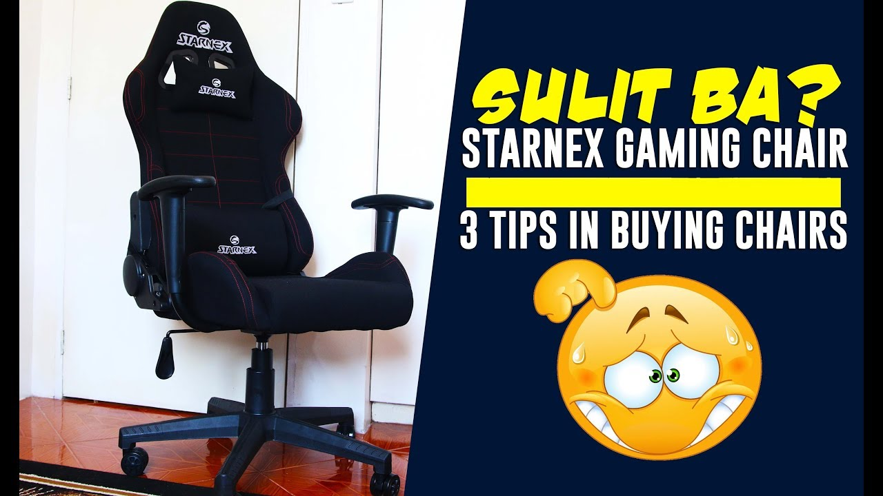 Pinakamurang Gaming Chair W Wheels At Php 4500 Below Ft 3 Tips In Buying Gaming Chairs 2019 Youtube