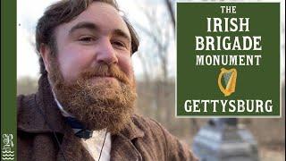 Is the Irish Wolfhound Extinct? The Irish Brigade Monument at Gettysburg - History Vlog
