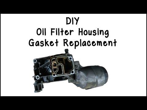 E46 Oil Filter Housing Gasket Replacement DIY
