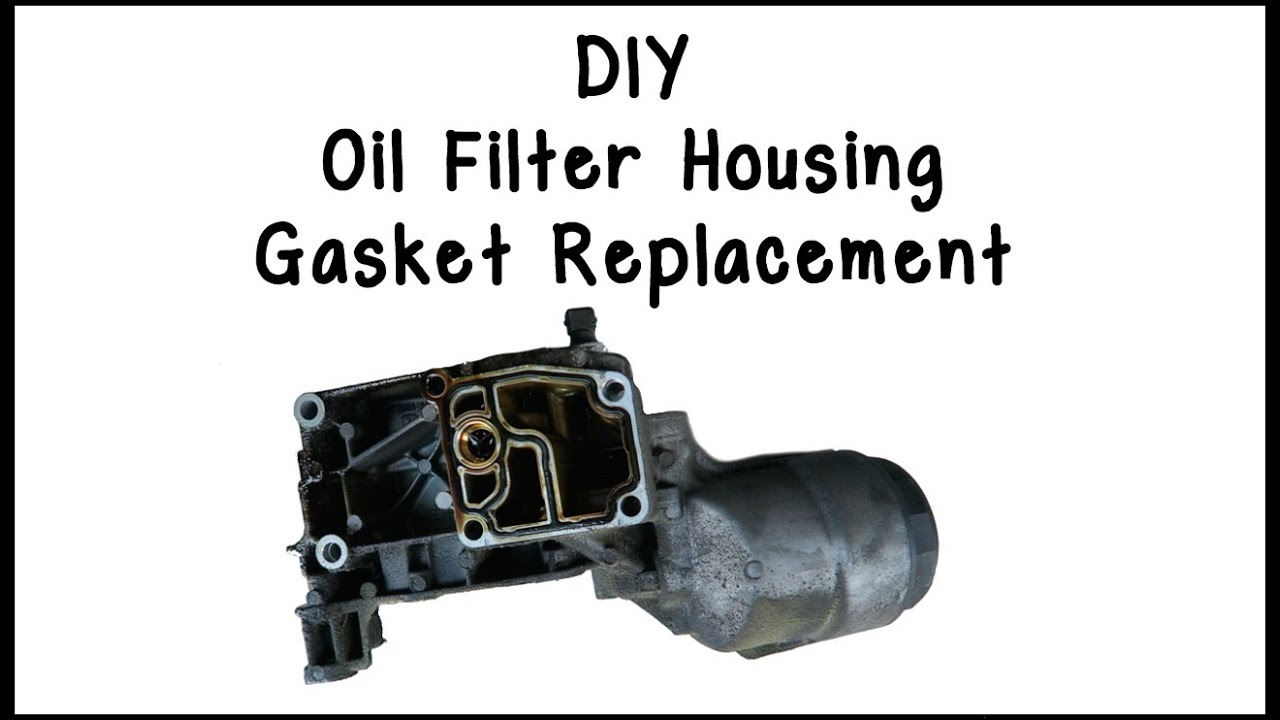 Oil Filter Housing Gasket >> E46 Oil Filter Housing Gasket Replacement Diy
