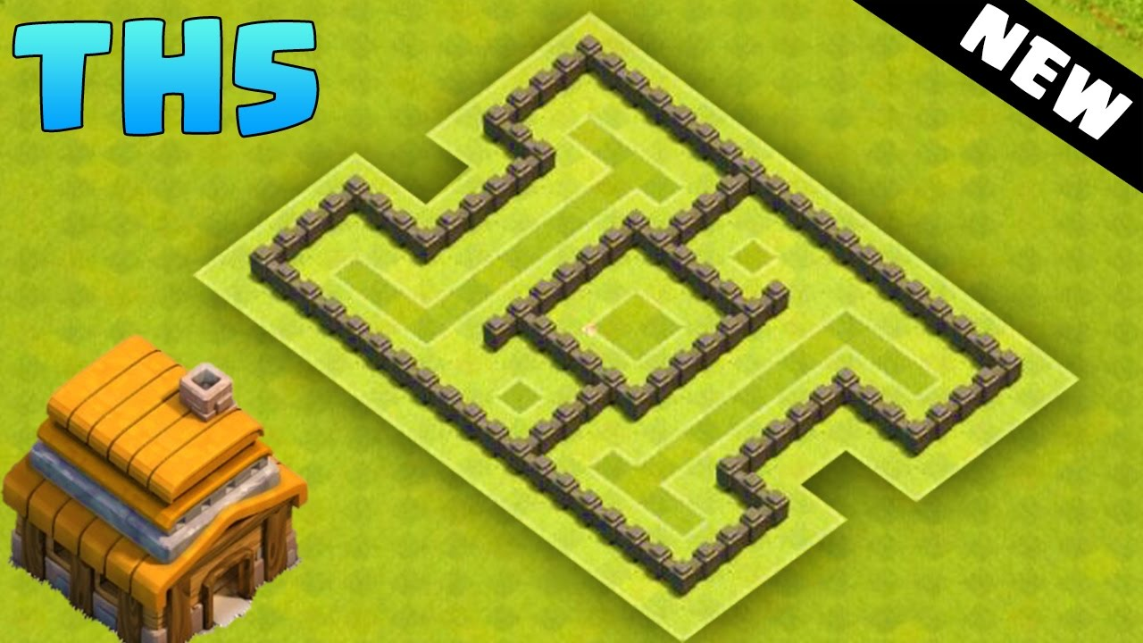 Clash Of Clans Town Hall 5 Hybrid Base Coc Th5 Best Defense Layout 2016 You