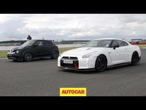 Nissan GT-R Nismo vs Nissan Juke-R 2.0 – Drag race