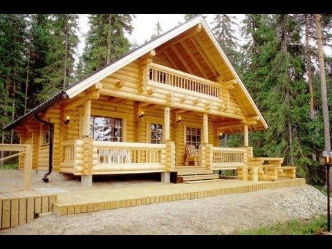 Деревянный дом из бревна (часть 1). Окна в деревянном доме.