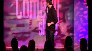 Pete Johansson Comedy Store TV Show 2010 London