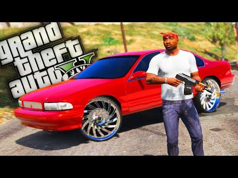 2Pac & The Bloods Take Grove Street Back! - GTA 5 Trap Life - Day 13