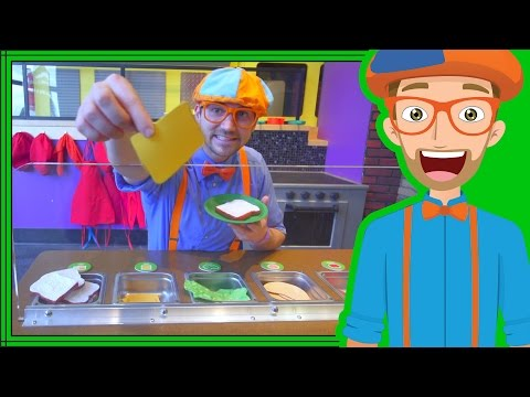 Thumbnail: Blippi Learns at the Children's Museum | Videos for Toddlers