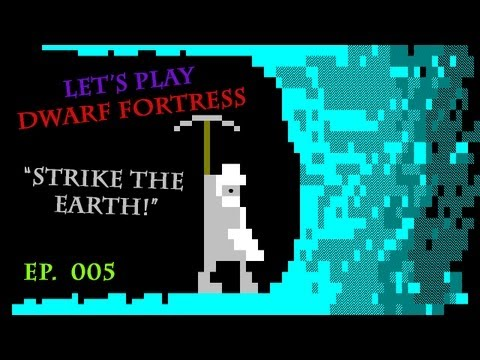 Let's Play Dwarf Fortress - Episode 5 - Wells, Migrants, Trade