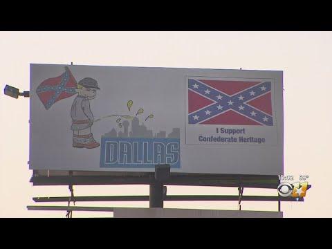 News Around The Lone Star State - Confederate Billboard Draws Controversy Outside Dallas