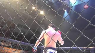 Григорий Попов — первый чемпион Международного турнира по панкратиону «Nord Fight» в Якутске