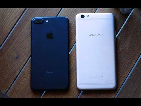 sports shoes cb4f7 88ef7 OPPO F3 Plus Vs Apple iPhone 7 Plus Comparison