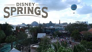 (What Is) Disney Springs? Full Walking Tour | Shops | Restaurants | Things To Do