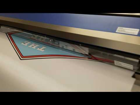video:Quick over view of D&A Customs print room,