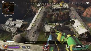 TOP 1 AT 2 PLAYERS WITH 18 KILLS Apex Legends PS4 gameplay