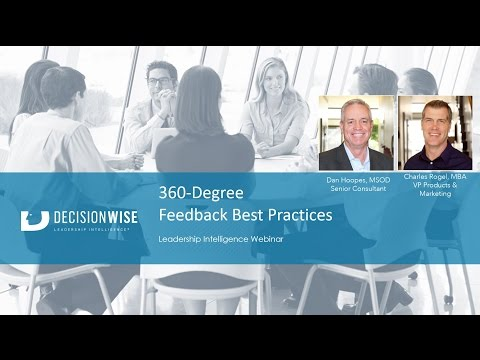 360 Degree Feedback Best Practices
