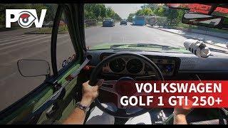 POV - Volkswagen Golf 1 GTI Gr.H 250+hp   STACS TestDrive
