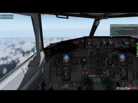 X-PLANE 10 IXEG 737-300 Classic ✈Fukuoka...