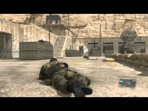 METAL GEAR SOLID V PHANTOM PAIN - Yakho Oboo Supply Outpost
