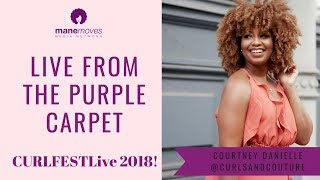 CURLFESTLive From The Purple Carpet!