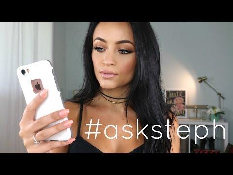 Q+A: BOOB JOB? BABIES? MARRIAGE? ADVICE? #asksteph | Stephanie Ledda