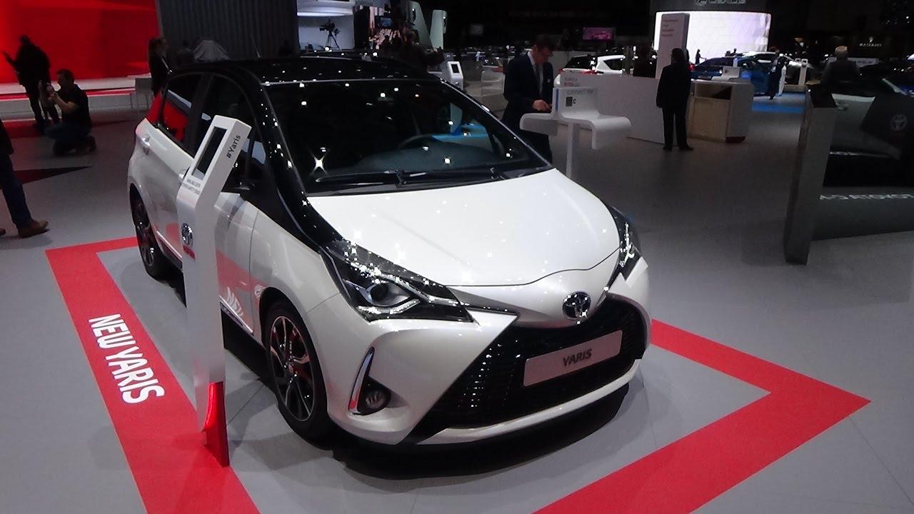 2018 toyota yaris hatchback. contemporary toyota 2018 toyota yaris  exterior and interior geneva motor show 2017 inside toyota yaris hatchback