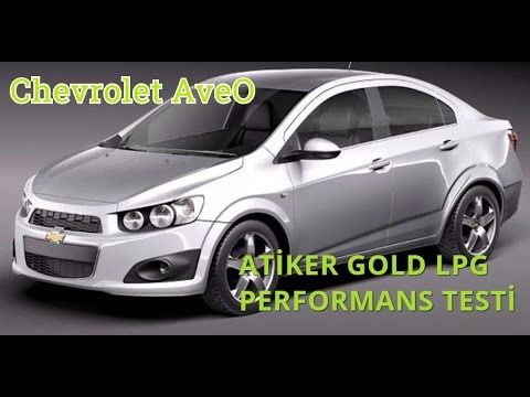 Chevrolet Aveo 1 4 Otogaz Test Yorum Youtube