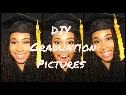 DIY Graduation Professional Pictures At Home