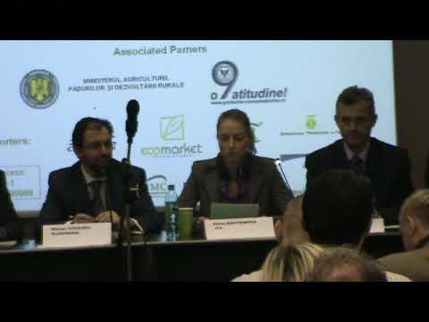 Deschidere Forumul de Agricultura Ecologica 2009 / Romanian Organic Forum 2009 - partea a 2 a