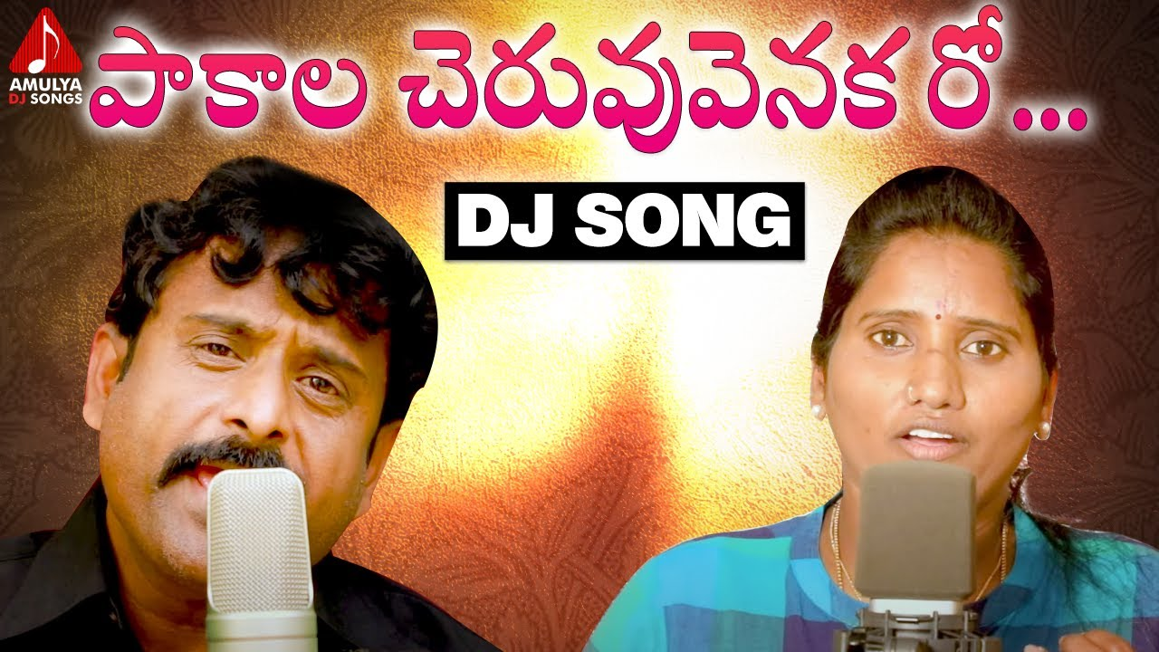 SUPER HIT Village Folk Songs | Pakala Cheruvu Venakaroo DJ Song | Singer Mallika | Amulya DJ Songs