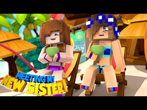 LITTLE CARLY MEETS HER SECRET SISTER!! (Minecraft Custom Roleplay) - Видео из Майнкрафт (Minecraft)