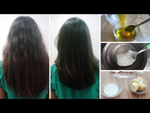6 Easy Ways to Straighten Hair Naturally at Home
