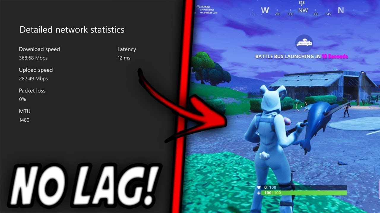 How To Stop Lagging In Fortnite Xbox One! 💯🔥 (Best Method)