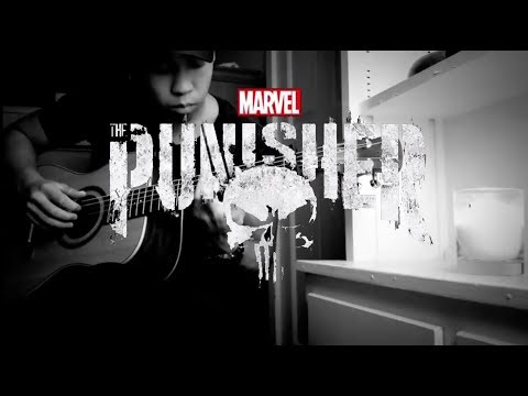 Netflix Marvel's The Punisher Main Theme Guitar Cover Instrumental *Tabs Included