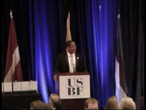 2010 U.S.- Baltic Gala- Michael Strautmanis of the White House Office of Public Liaison