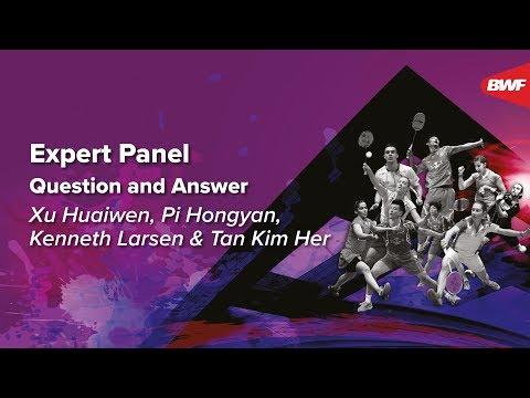 Expert Panel Q&A   Xu Huaiwen, Pi Hongyan, Kenneth Larsen, Tan Kim Her