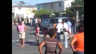 Massive Violent Street Fight in Kraaifontein South Africa