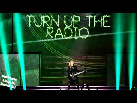 Turn Up The Radio MDNA World Tour Version - Karaoke/Instrumental