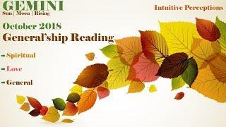 GEMINI   Re-establishing Commitments? Oct 2018 Love, Spiritual, & General Tarot Reading
