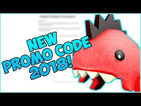 ROBLOX NEW PROMOCODE 2018!