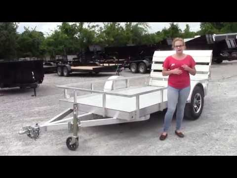5' X 10' Aluminum Flatbed 3500 Lb Axle Utility Trailer Review