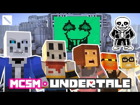 Play as UNDERTALE SANS! FULL Minecraft Story Mode Playthrough
