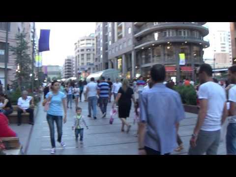 Yerevan, North Avenue.