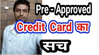 PreApproved Credit Card Fraud of HDFC, ICICI, Axis Bank