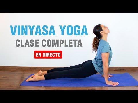 🔴Clase de Yoga Completa para todos los niveles EN DIRECTO   El canal celebra 1 año!   Anabel Otero