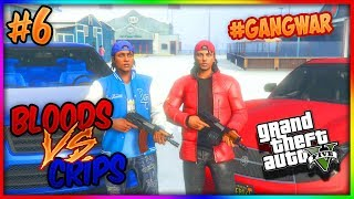 GTA 5 BLOODS VS CRIPS TWIN BROTHERS EP. 6 - BLOODY SNOW (GTA 5 SKIT)
