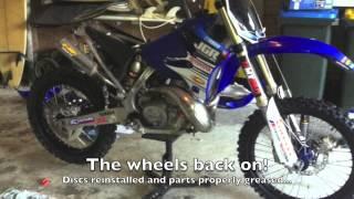 Yamaha Yz250 Project Bike Rebirth/Rebuild